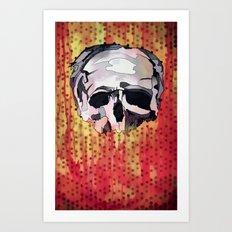 Skully. Art Print