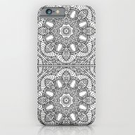 Color Me Mandala 01 iPhone 6 Slim Case