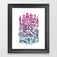 Castle Mama Framed Art Print