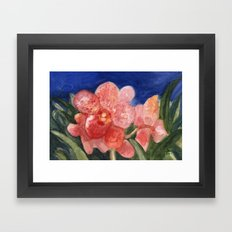 Midnight Beauty Framed Art Print