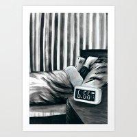 6.66 AM Art Print
