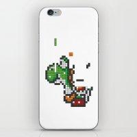 Yoshi Tetris iPhone & iPod Skin