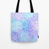 Pastelflakes Tote Bag
