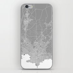 Mackay Map Grey Australi… iPhone & iPod Skin