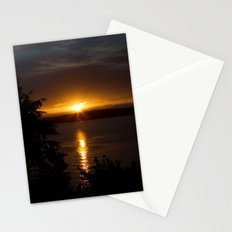 Puget Sound Sunset Stationery Cards