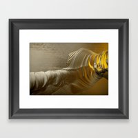 Molten Gold II Framed Art Print