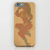 iPhone & iPod Case featuring Push Pin Up by TeeLou