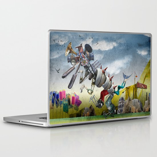 monster II Laptop & iPad Skin
