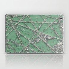 Sparkle Net Mint Laptop & iPad Skin
