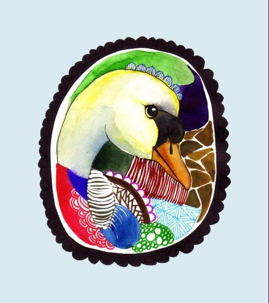 Birdy / Nr. 2 Art Print