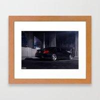 Mercedes Benz S550 Framed Art Print