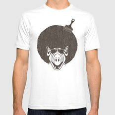 Alfro SMALL White Mens Fitted Tee