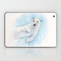 Polar bear underwater Laptop & iPad Skin