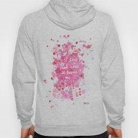 Pink Love Hoody