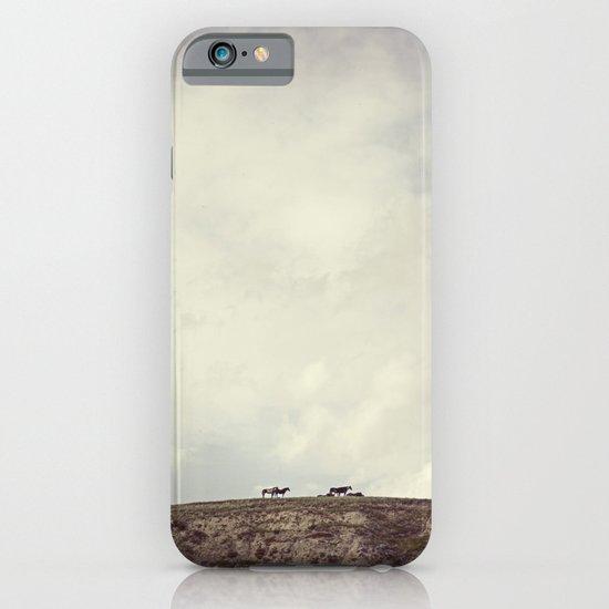 wild horses iPhone & iPod Case