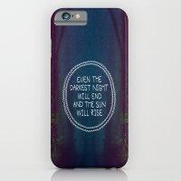 iPhone & iPod Case featuring Darkest Night by Galaxy Eyes