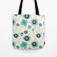 Floral Doodle Tote Bag