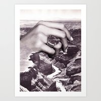 In/On/Over Art Print