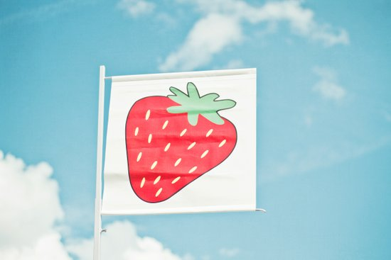 Strawberry Sky Canvas Print