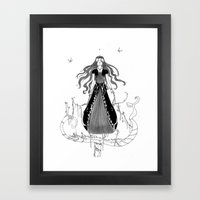 DIVA Framed Art Print