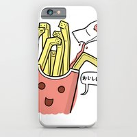 iPhone & iPod Case featuring Friends Go Better Together 1/7 - French Fries and Ketchup by Steven Preisman