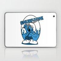 Brave Smurf Laptop & iPad Skin