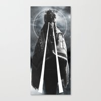 DARKNESS/ENLIGHTENMENT Canvas Print