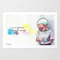 I Put My Dreams Away & S… Art Print