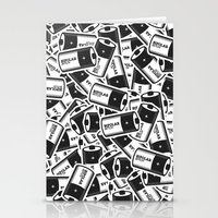 Bipolar Bitch Pattern Stationery Cards
