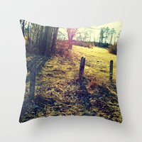 Always Left Unnoticed  Throw Pillow