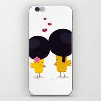 Afro Love iPhone & iPod Skin