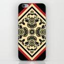 Victorian Goth Print iPhone & iPod Skin