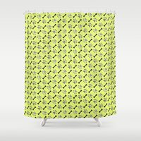 Paw Prints & Bones Shower Curtain