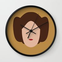 Star Wars Minimalism - Princess Leia Wall Clock