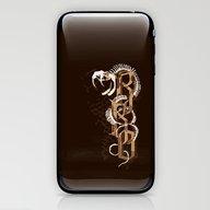 RKO Snake Bone IPhone 4 … iPhone & iPod Skin
