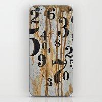 Numeric Values: Crude Fi… iPhone & iPod Skin