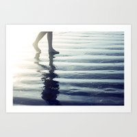 Comes and Goes in Waves Art Print