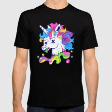 Deadicorn Black Mens Fitted Tee SMALL
