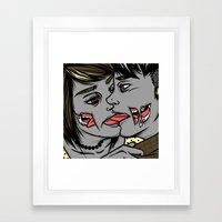 These Ashes Still Burn  Framed Art Print