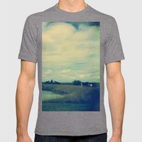 One Summer Day Mens Fitted Tee Tri-Grey SMALL