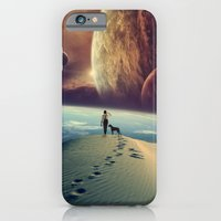 dog iPhone & iPod Cases featuring Explorer by POP.