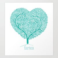 Love Growing Art Print