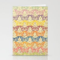 Butterflys in Color Stationery Cards