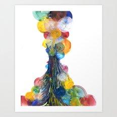 System #5, Visit #1: Lyscria Art Print