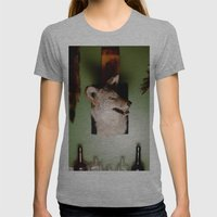 'Yote Womens Fitted Tee Athletic Grey SMALL