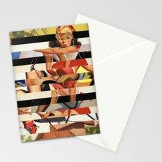 Glitch Pin-Up Redux: Lindsey Stationery Cards