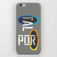 POR---TAL iPhone & iPod Skin