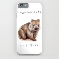 I might look cute, but I bite iPhone 6 Slim Case