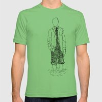 Standing is Fun Mens Fitted Tee Grass SMALL