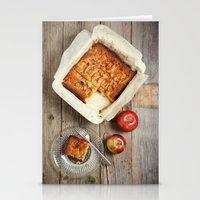 Apple Dessert Stationery Cards